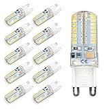 POPP Bombilla LED G9 SMD 2.5W 230Lm (3000K, Pack 10)