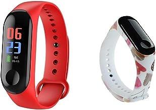 Smart Horloge IP68 Waterdicht Smartwatch Bloeddruk Hartslagmeter Fitness Sport Smart Armband Polsband (Kleur: Optie 15stra...