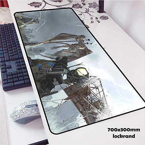 Música Alfombrilla de ratón Jugador de Goma Personalidad Nuevo portátil Teclado Gran Mesa tapete 5 900x400x2