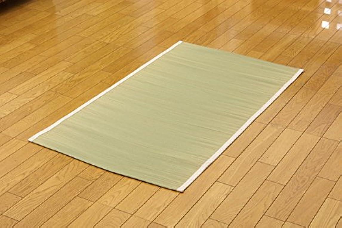 与える変形口頭純国産 い草 シーツ 寝ござ 汗取りパッド(I) 約120×200cm セミダブル 夏用
