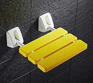 Wall Mounted Folding Shower Seat Drop-leaf Seat Bench Disability Elder Nursing Care Bathroom Stool Home Care Bath Aid Safe...