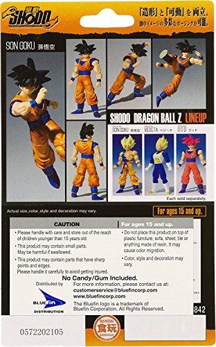 """Son Goku: ~3.2"""" Dragonball Z Renewal x Shodo Micro Action Figure"""