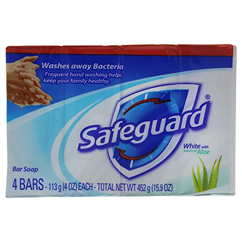Safeguard Deodorant Soap, White, 16 Ounce