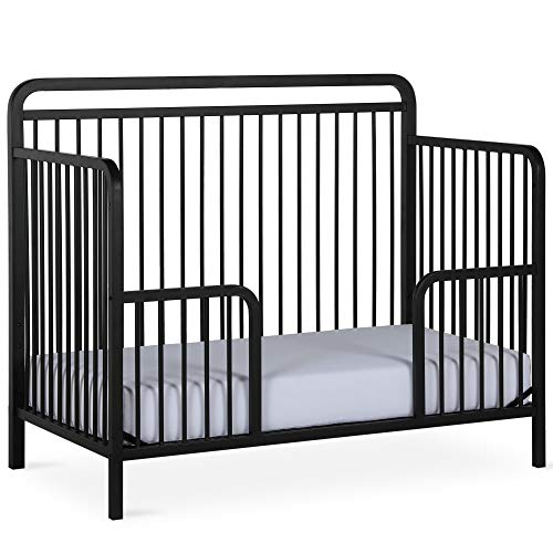 Fantastic Deal! Baby Relax Juniper Metal Toddler Guardrail, Matte Black