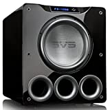 SVS PB-4000 13.5' 1200W Ported Box Subwoofers - Pair (Piano Gloss Black)
