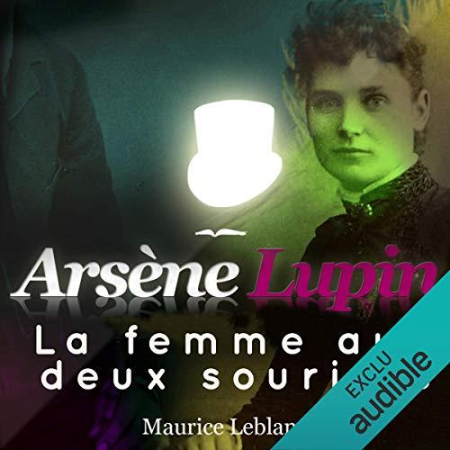 Couverture de La femme aux deux sourires (Arsène Lupin 42)