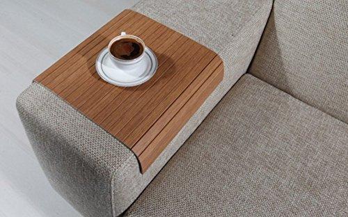 Sofa Tray Table (Bahama Teak), Sofa Arm Tray, Armrest Tray, Sofa Arm Table, Couch Tray, Coffee Table, Sofa Table, Wood Tray, Wood Gifts