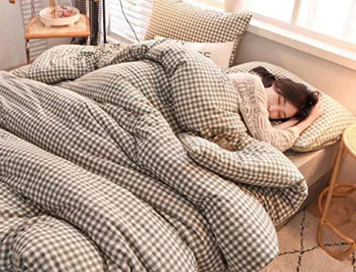 CHOU DAN Sommer bettdecke 135 x 200,Winter Quilt Vollbaumwolle verdickte Wärme Vier Jahreszeiten Universal Spring und Herbst Quilt Core Quilt-180 x 220 cm 2500 g_2