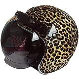 Leopard Caschi moto Cromwell