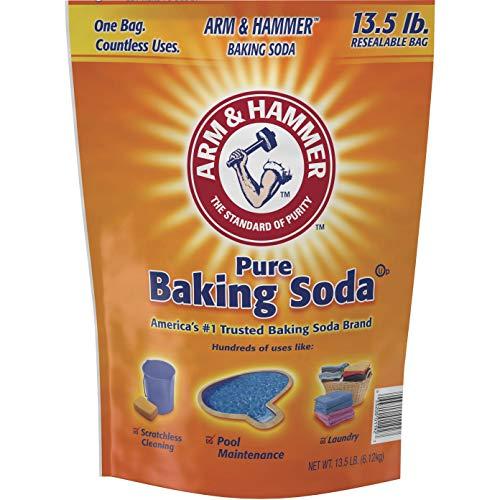 Arm & Hammer, CDC3320001961, Pure Baking Soda, 4 / Box, Orange