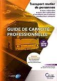 Guide de capacité professionnelle - Transport routier de personnes