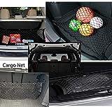 LT Sport 28' Universal Rear Trunk Tie Down Cargo Net Elastic Nylon Mesh Cover