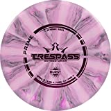 Dynamic Discs Prime Burst Trespass Disc Golf Driver | Frisbee Golf Disc | Maximum Distance Driver | Neutral Flight Pattern | Stamp Colors Will Vary (Pink/White)