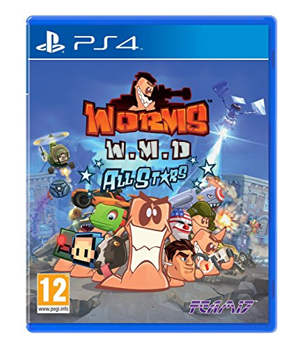 Worms WMD All Stars (PS4) UK IMPORT