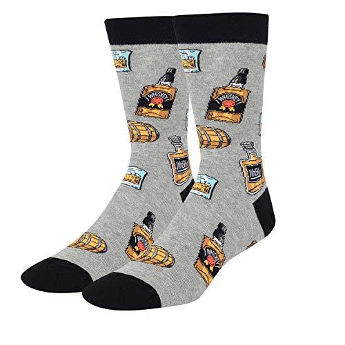 Zmart Herren Lustige Taco Speck Ananas Donut Socken Crazy Cool Food Lover Geschenk - - Medium