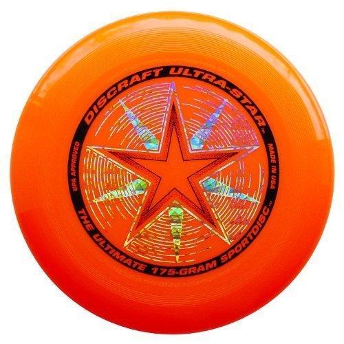 Discraft 175 Gram Ultra Star Sport Disc. Orange