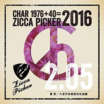 ZICCA PICKER 2016 vol.2 live in Hachioji