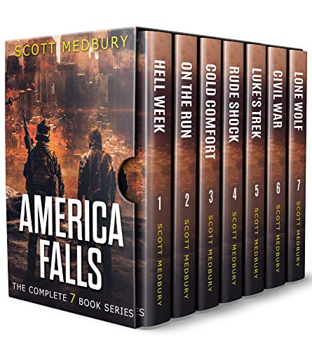 America Falls: The Complete Apocalyptic Survival Thriller Series by [Scott Medbury]