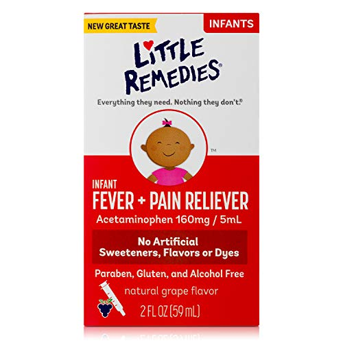 Little Remedies  Infant Fever & Pain Reliever...