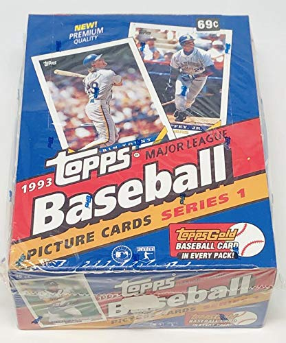1993 Topps Series 1 Baseball Box