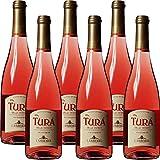 Vino Rosè Frizzante   Turà Trevenezie IGT   Veneto   6 Bottiglie 75Cl   Per Happy Hour   Dopocene Easy Chic   Idea Regalo