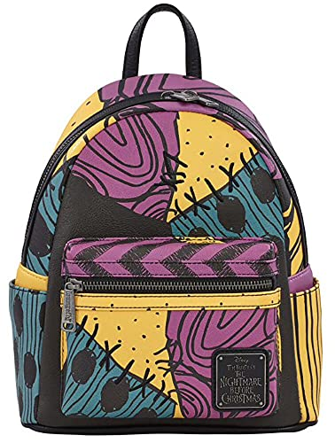 Loungefly x Nightmare Before Christmas Sally Costume Mini Backpack (One Size, Multi)