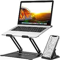 MOEVERT Laptop Standaard, Ergonomische Laptopstandaarden Verstelbare Laptop Stand Opvouwbare Draagbare Laptop Houder met...
