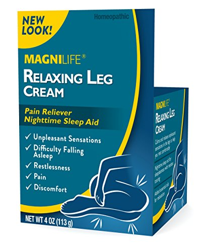 MagniLife Relaxing Legs Pain Relief and Sleep Aid Topical Treatments: Tingling, Restlessness