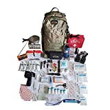 Ultimate Bug Out Bag III Premium Emergency Survival Kit (Newest Version) (Black 60L)