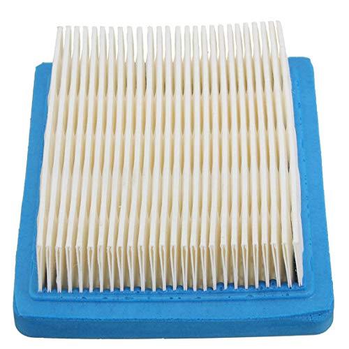 Filtro de aire 1Pcs para Tecumseh 36046 740061 Craftsman 33325 Motores Cortacésped - Azul y blanco