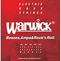 WARWICK ワーウィック エレキベース弦 5弦セット ニッケルメッキ 46300 Medium Light Low B 040/130