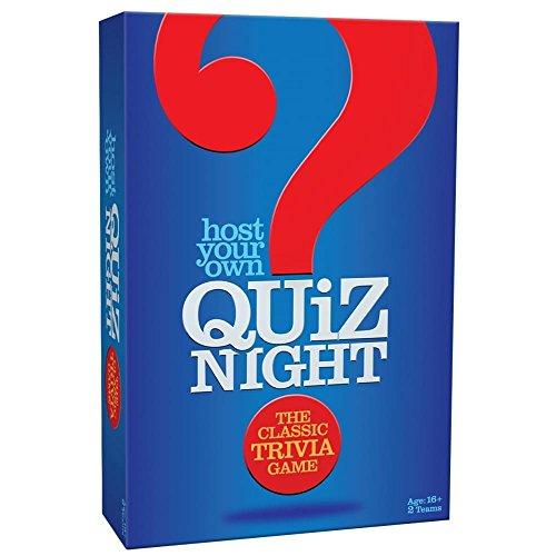 Cheatwell Games Host Your Own Night organiseer je eigen Quiz-nacht, UK-Edition