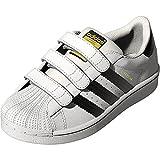adidas Unisex-Kinder Superstar Low-Top,Weiß (Ftwr White/Core Black/Ftwr White),36