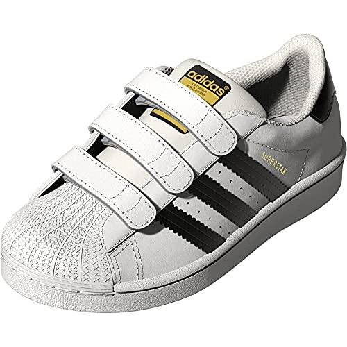 adidas Originals Kid's Unisex Superstar White/Black/White 5.5