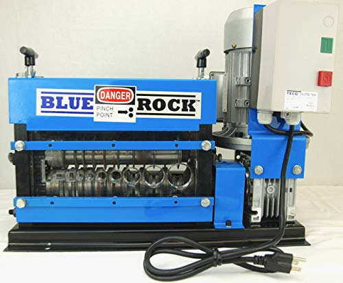 BLUEROCK Tools Model MWS-808PMO Wire Stripping Machine Copper Cable Stripper