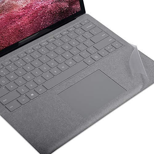 xisiciao Transparent Keyboard Palm Rest Protector for Microsoft Surface Laptop / Laptop 2 Pads/Wrist Rests,Protect Alcantara from Dirty/Stain 13.5 Inch Cover(US Layout)