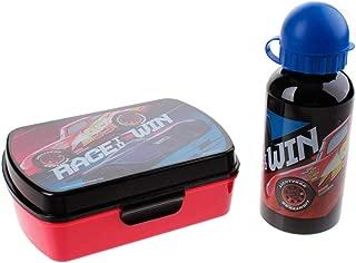 Disney Cars - Set Lunch Box + Aluminium Drinks Bottle, wd19635