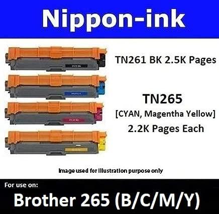 Nippon-ink TN265 For Use on Brother Laser Colour Toners - HL-3150CDN, HL-3170CDW, MFC-9140CDN, MFC-9330CDW, Magenta