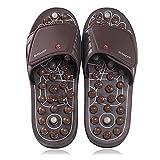 BYRIVER Plantar Fasciitis Relief Foot Massager, Acupressure Slippers Slides for Men Women,...
