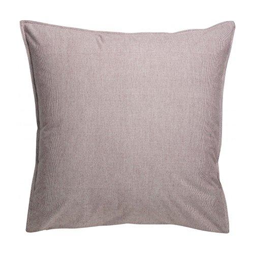 Vivaraise - Taie d'oreiller - Housse de Coussin - Protection Coussin - Housse d'oreiller - Doux et Confortable - Housse décoration - Fermeture Facile - 100% Coton - 65 x 65 - Louna