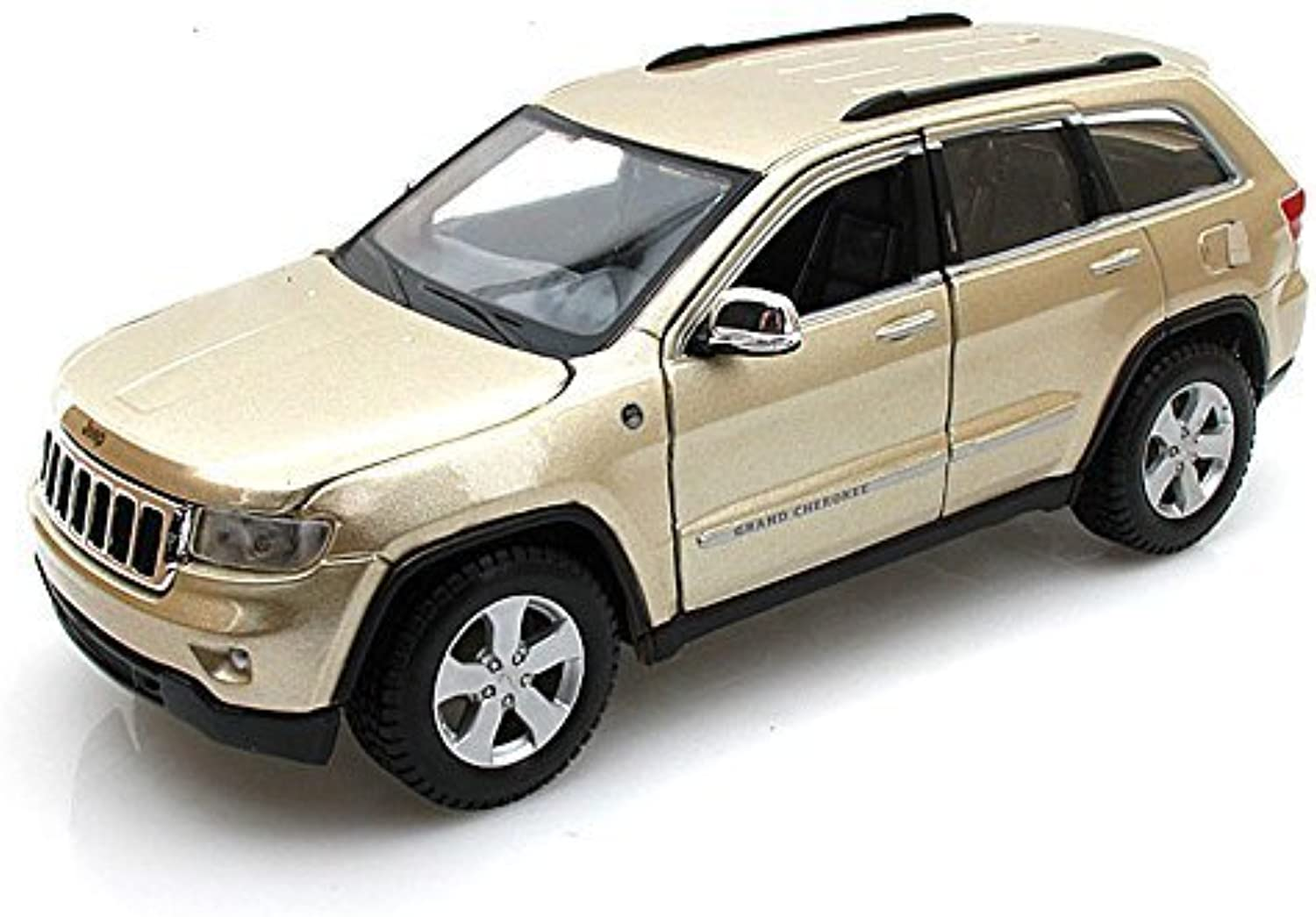 Jeep Grand Cherokee Laredo SUV, gold  Maisto 34205  1 24 Scale Diecast Model Toy Car by Maisto