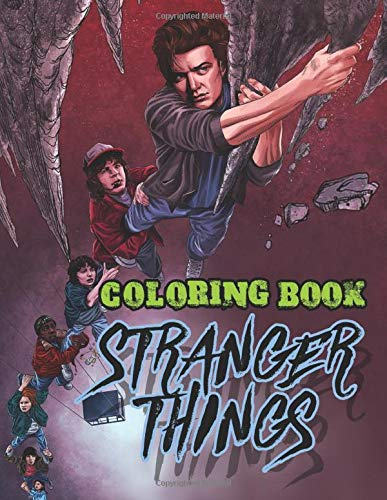 Stranger Things Coloring Book: Coloring Books for Adults and