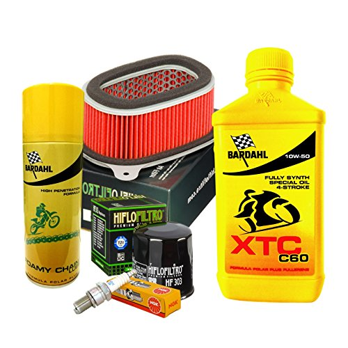 Vignette Bardahl XTC 10 W50 Filtre huile Air bougies Spray XRV AFRICA TWIN 750