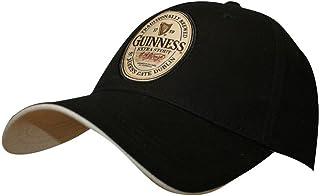 Official Guinness Merchandise English Label Cap(Adjustable), Black