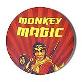 Gift Insanity Marco de fotos clásico retro para niños de TV monkey Magic de 58 mm
