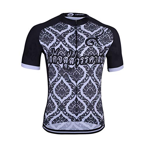 FMBK666 Camiseta de Ciclismo para Hombre, Ropa Transpirable de Verano de Manga Corta, Camiseta de Bicicleta, Top MTB de Secado rápido para Deportes al Aire Libre, Ciclismo, Ciclismo