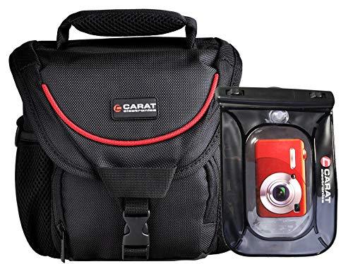 Fototasche mit Unterwasserbeutel für Kamera