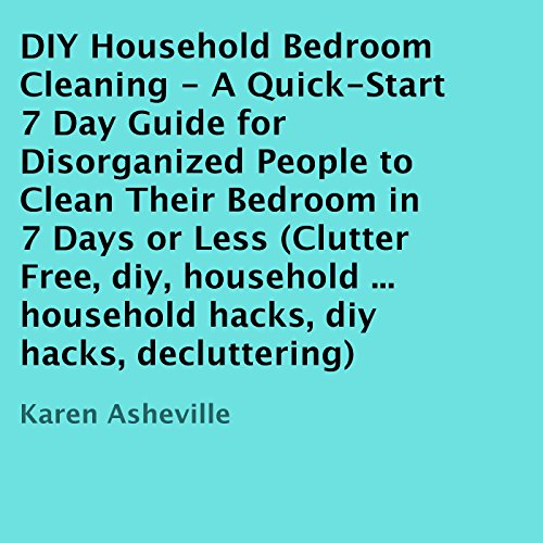DIY Household Bedroom Cleaning audiobook cover art