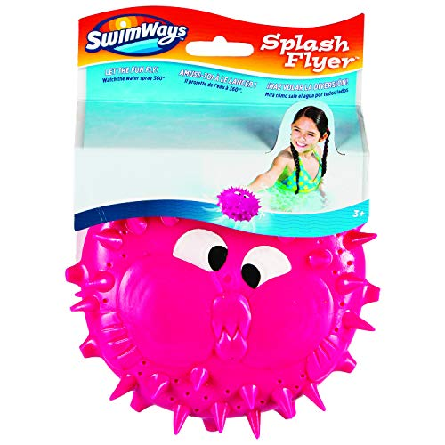 SwimWays 6046245 SWW WTT Splash Flyer Blow Fish Green GML, Multicolour