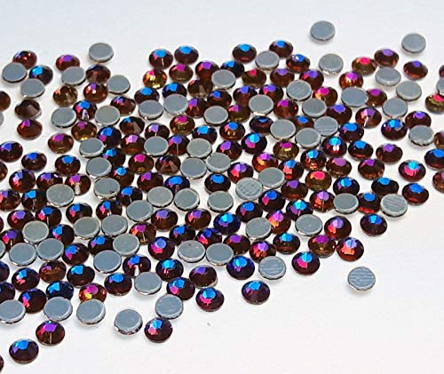 50 Strass Hotfix Blue Zircon DMC Rhinestones SS20 Quantity can be Selected Turquoise Blue AAA